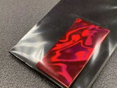 Transfer foil Scarlet frost
