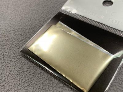 Transfer foil White gold