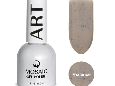 Mosaic gēla laka/Silence 15 ml