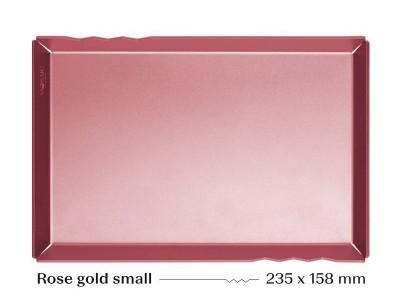 Mosaic/Mazā rozā zelta paplāte