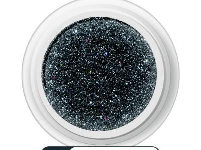 Ritzy/BLACK_CHALK HOLO superfine glitter