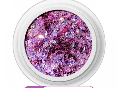 Ritzy A-10/Pink payette mix glitter