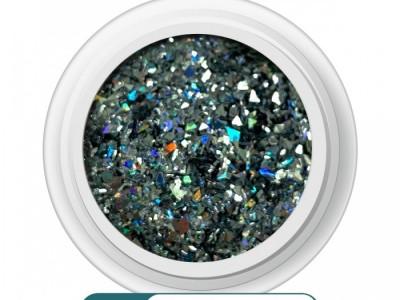Ritzy A-07/Crushed onyx mix glitter