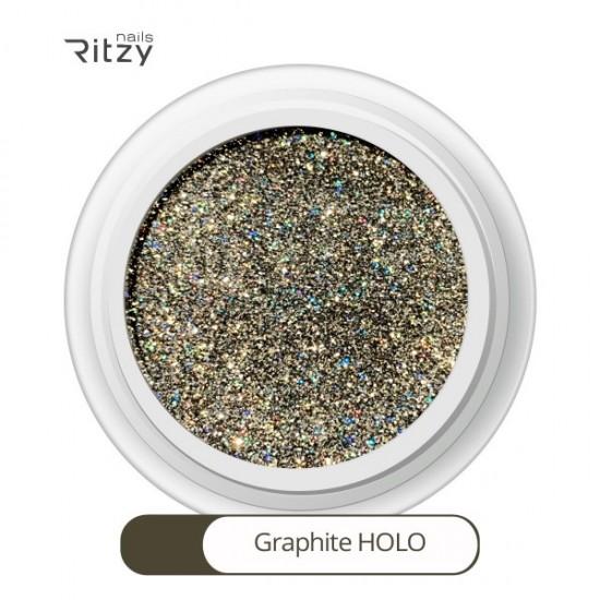 Ritzy/GRAPHITE HOLO superfine glitter