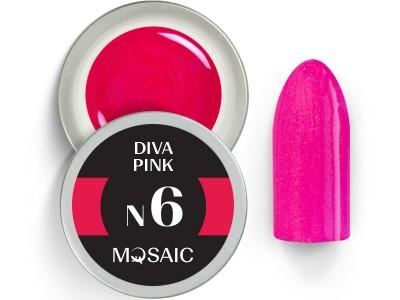 N6. Diva pink gēla krasa/5ml