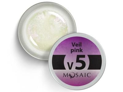 V5. Pink veil gēla krāsa/ 5ml