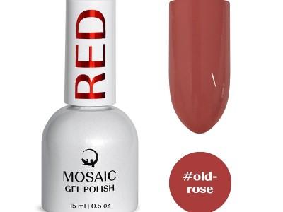 MOSAIC gēla laka/Old-rose 15ml