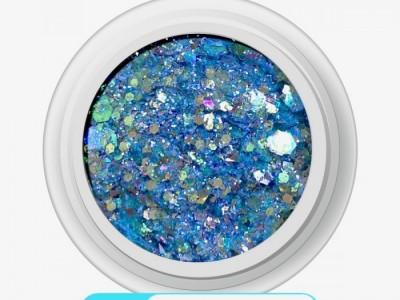 Ritzy M-01/LAGOON mix glitter