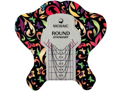 Mosaic NS/Round forms/100pcs