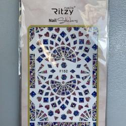 Ritzy TM/Nail art Stickers/F152