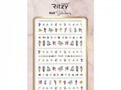 Ritzy TM/Nail art Stickers/F539