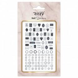 Ritzy TM/Nail art Stickers/F545