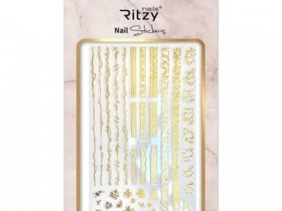 Ritzy TM/Nail art Stickers/F549 gold