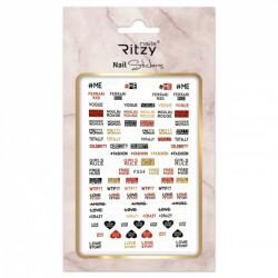 Ritzy TM/Nail art Stickers/F554