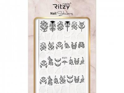 Ritzy TM/Nail art Stickers/F571