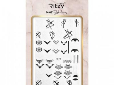 Ritzy TM/Nail art Stickers/F572