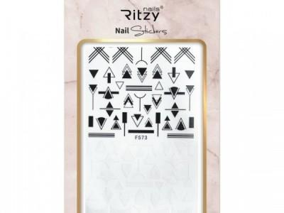 Ritzy TM/Nail art Stickers/F573