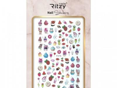 Ritzy TM/Nail art Stickers/F575