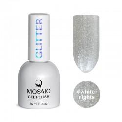 Mosaic White nights/gēla laka 15 ml
