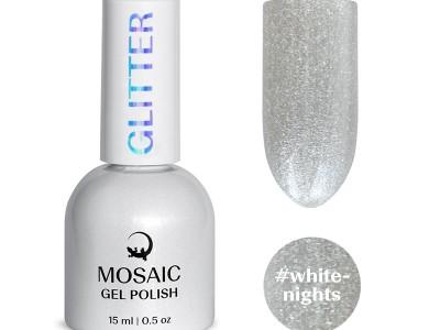 Mosaic gel polish/White nights 15 ml