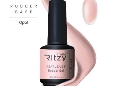 Ritzy TM/Rubber base gel/Opal/15ml