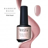 Ritzy TM/Rubber base gel/Pink Pearl/15ml