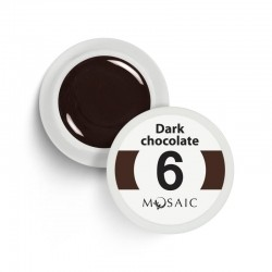 Mosaic gel paint 6. Dark chocolate/5ml