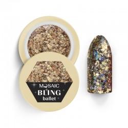 Mosaic glitter gēls/Ballet 5 ml