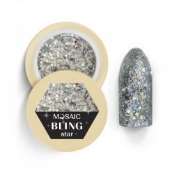 Mosaic glitter gēls/Star 5 ml