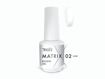 RITZY TM/MATRIX Builder gel/Cloud/Soft milky/15ml