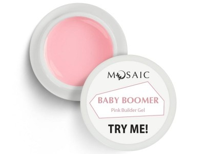 Mosaic/Baby Boomer pink builder gel 5ml