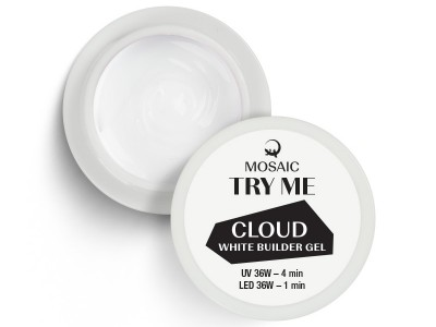 Mosaic NS/Cloud white builder gel/5ml
