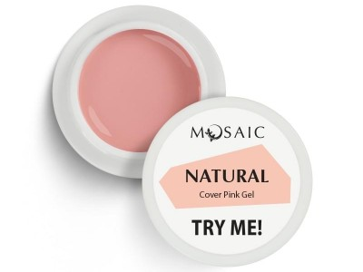 Mosaic/Natural cover pink builder gel 5ml