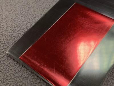 Casting foil Red