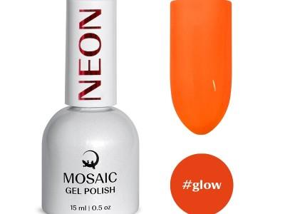 Mosaic gēla laka/Glow 15 ml