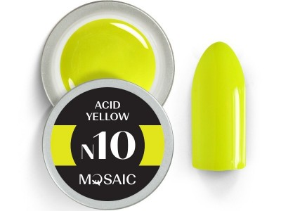 N10. Acid Yellow gēla krasa/5ml