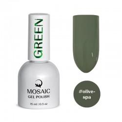 Mosaic Olive spa/gēla laka 15 ml