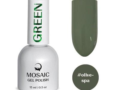 Mosaic gēla laka/Olive spa 15 ml