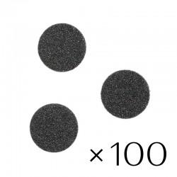 Maināmie faili pedikīra diskam/ 80 - 25 mm/ 100 gb