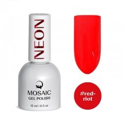 Mosaic Red riot/gēla laka 15 ml