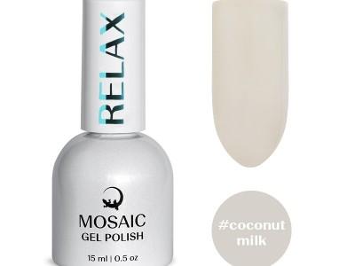 MOSAIC gēla laka/Coconut milk 15ml