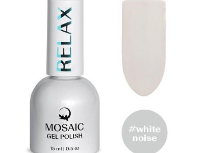 MOSAIC gel polish/White noise 15ml
