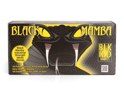 Black mamba nitrile gloves/S 100pcs