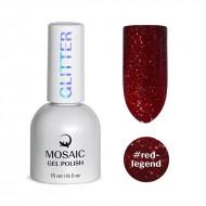 Mosaic Red legend/gēla laka 15 ml