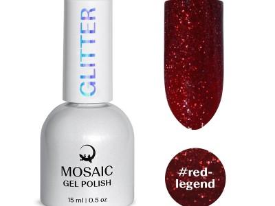 Mosaic NS/Gel polish/Red legend/15ml