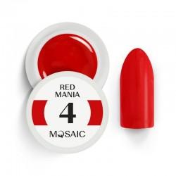 Mosaic gel paint 4.Red mania/5ml
