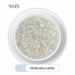 Ritzy TM/SUGAR GLITTER MULTICOLOUR WHITE