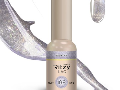 Ritzy Lac Cat Eye/SILVER GEM 198