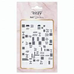 Ritzy TM/Nail art Stickers/813