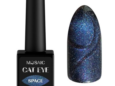 Mosaic gēla laka Cat eye/Space 10 ml